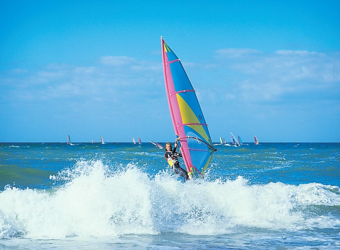 Windsurfing Skummende hav